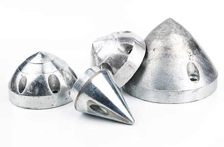 Zinc and aluminum anodes for Max-Prop propellers