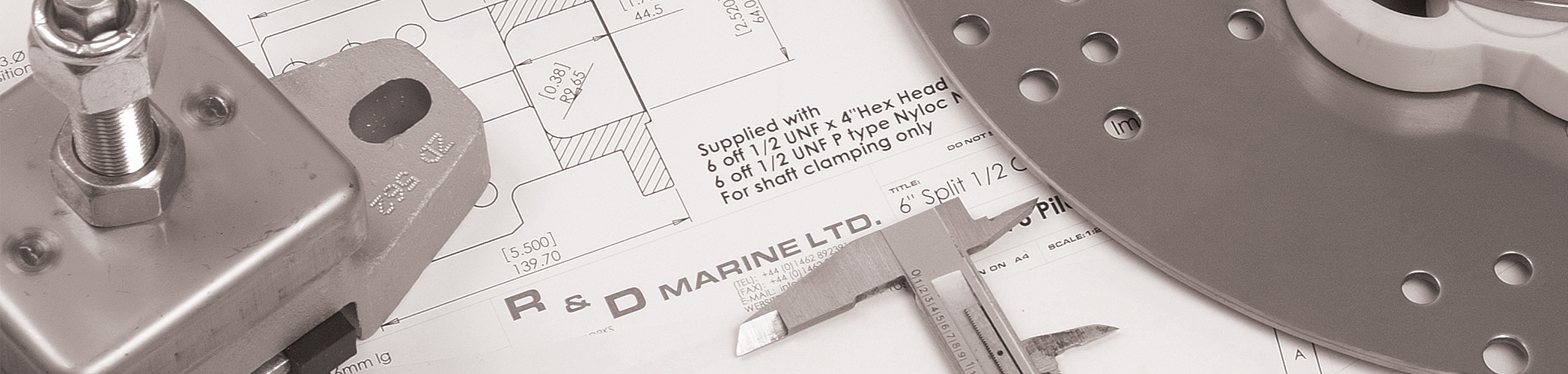 R&D Marine product banner